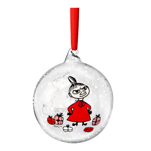 Moomin Winter Magic Christmas Decoration Ball Little My