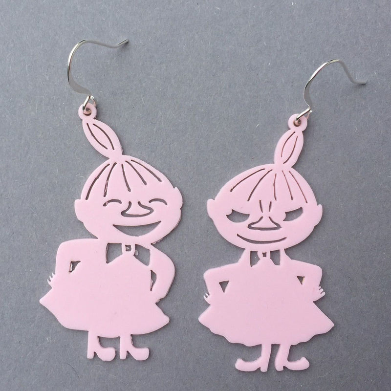 Little My Earrings Light Pink