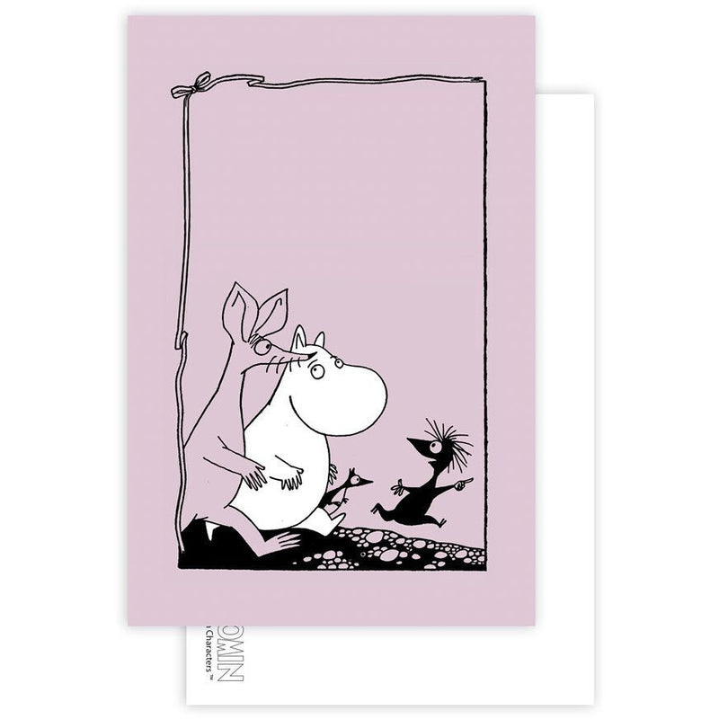 Postcard Sniff And Moomintroll - .