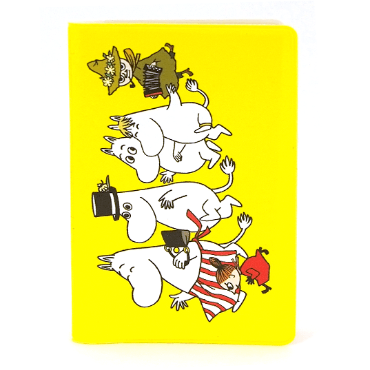 Card Holder Moomin family - .
