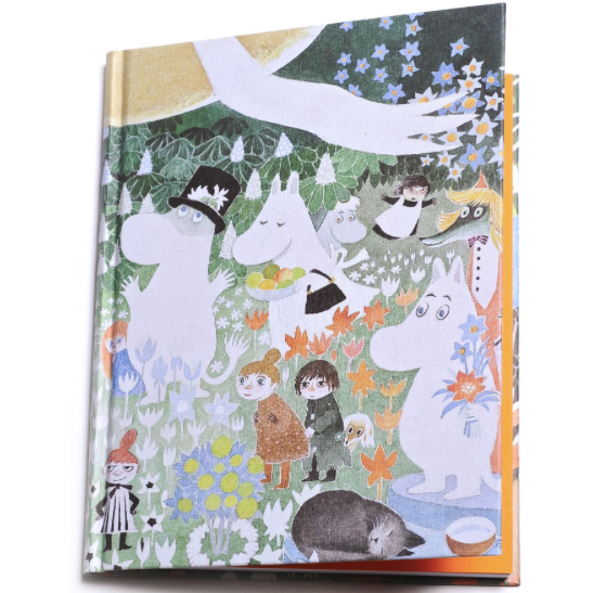 Moomin Hardback Notebook Dangerous Journey - .
