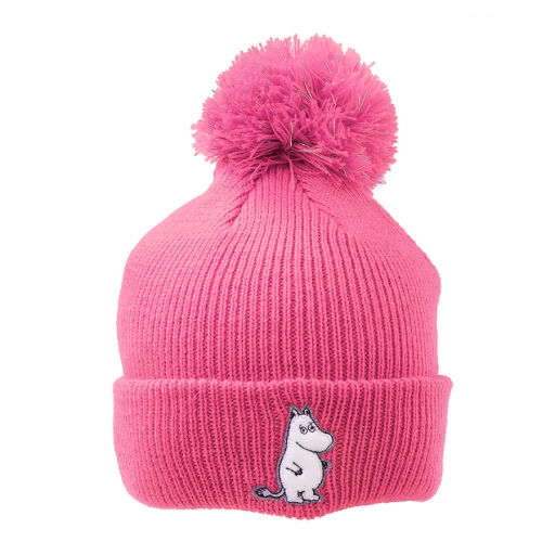 Moomintroll Reflective Beanie Pink - .