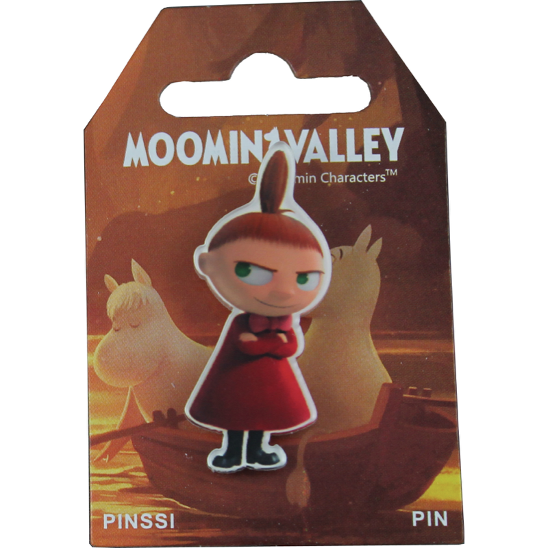 Pin Badge Little My From Moominvalley - .