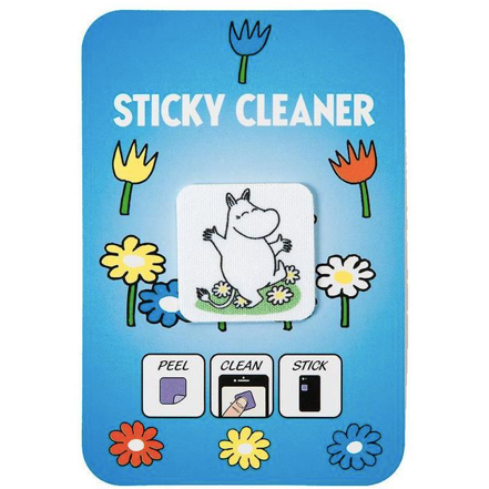 Dancing Moomintroll Sticky Cleaner Sticker - .