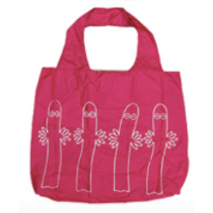 Eco Carry Bag Hattifatteners L Pink - .
