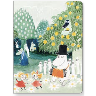 Moomin Mini Notebook Finn Family Moomintroll - .