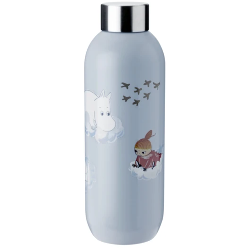 Keep Cool Moomin Drinking Bottle 0,75 Soft Cloud