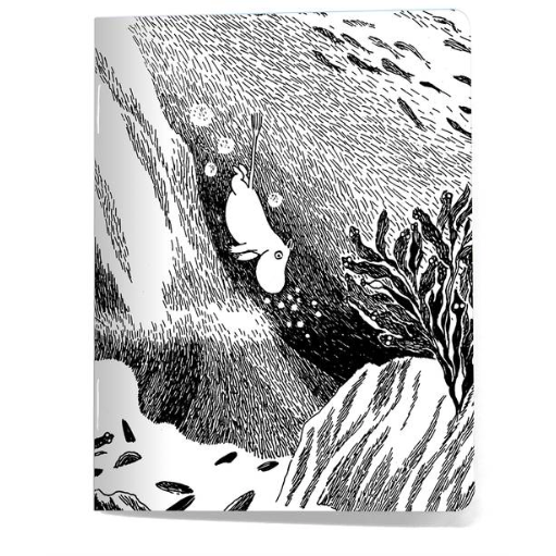 Moomin Mini Notebook The Dive