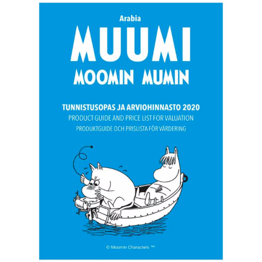 PRE-ORDER Arabia Moomin – Product and Valuation Guide 2020