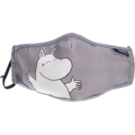 Moomin Face Mask Moomintroll grey
