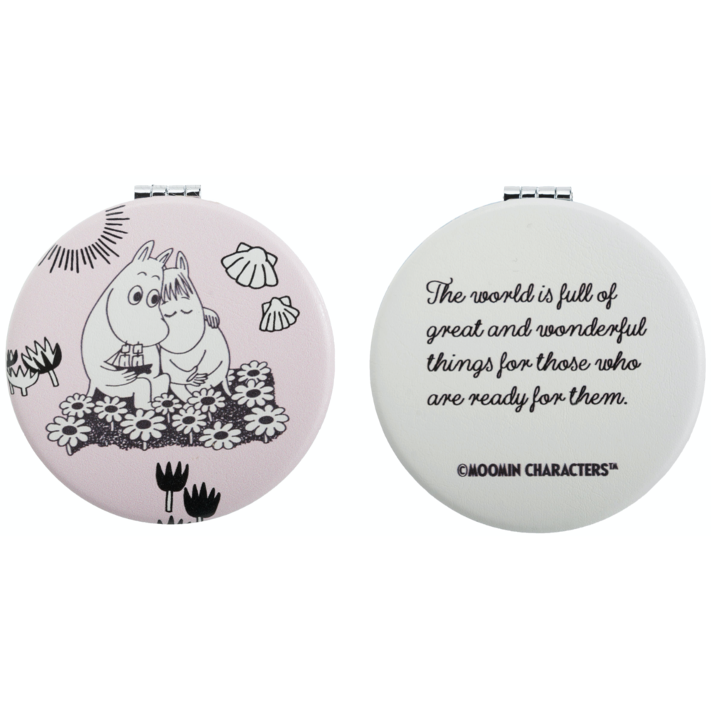 Moomintroll And Snorkmaiden Love Pocket Mirror