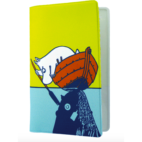 Card Holder #OURSEA Moomintroll and Snorkmaiden