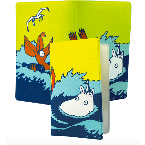 Card Holder #OURSEA Moomintroll and Sniff