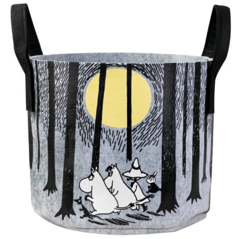 Moomin Storage Basket In The Woods