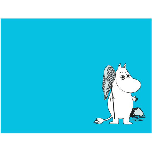 Moomin Placemat Moomintroll Turquoise