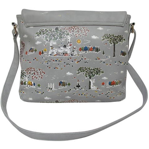Moomin Satchel with Meadow print