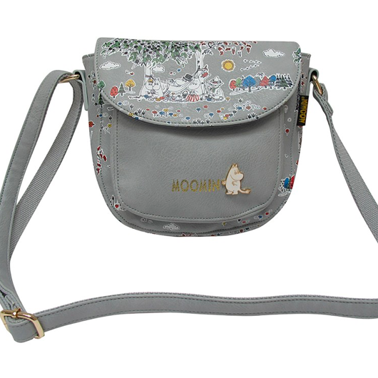 Moomin Saddle Bag with Meadow print