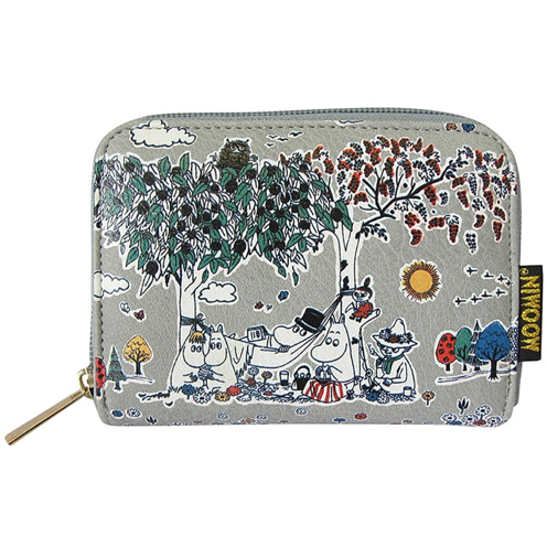 Moomin Wallet with Meadow print - .