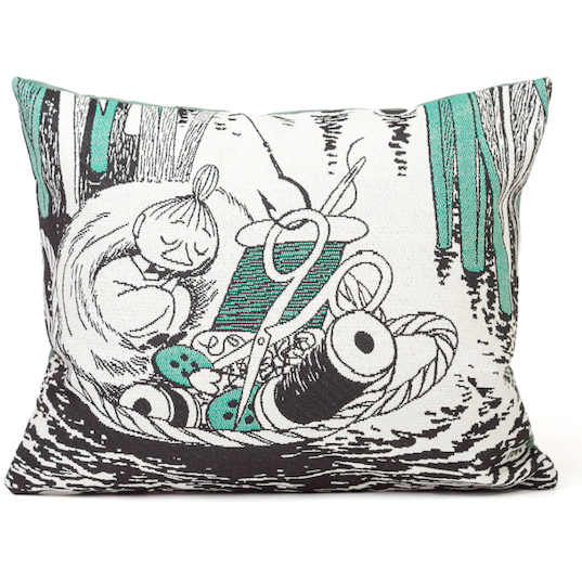 Gobelin Cushion Cover Little My In Basket - .