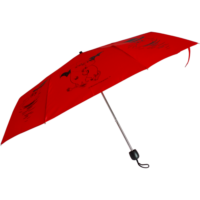 Moomin Travel Umbrella Red - .