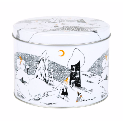 Moomin Polar Bear Round Tin - .