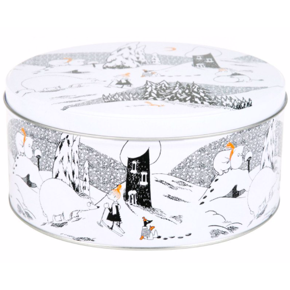 Moomin Polar Bear Round Tin Large - .