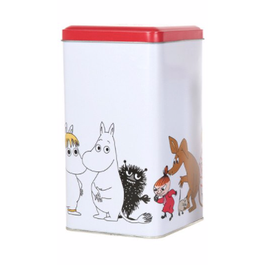 Moomin Characters Square Tin Medium - .