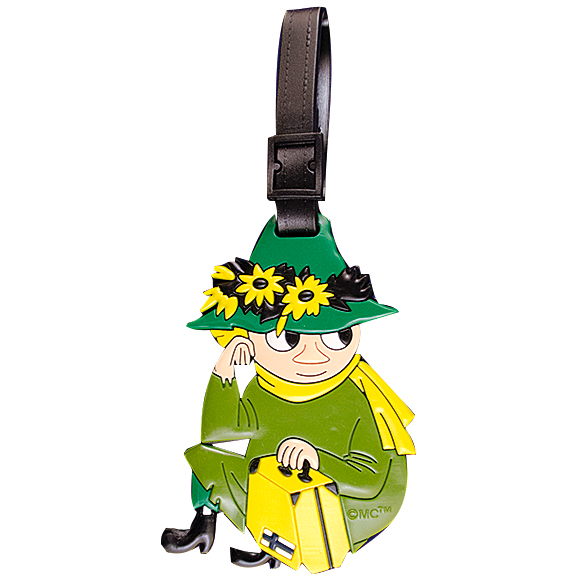 Moomin Luggage Tag Snufkin - .