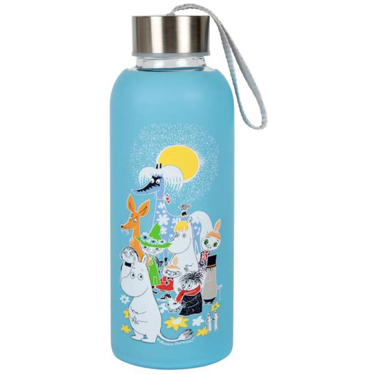 Moomin Summer Day Bottle Blue - .