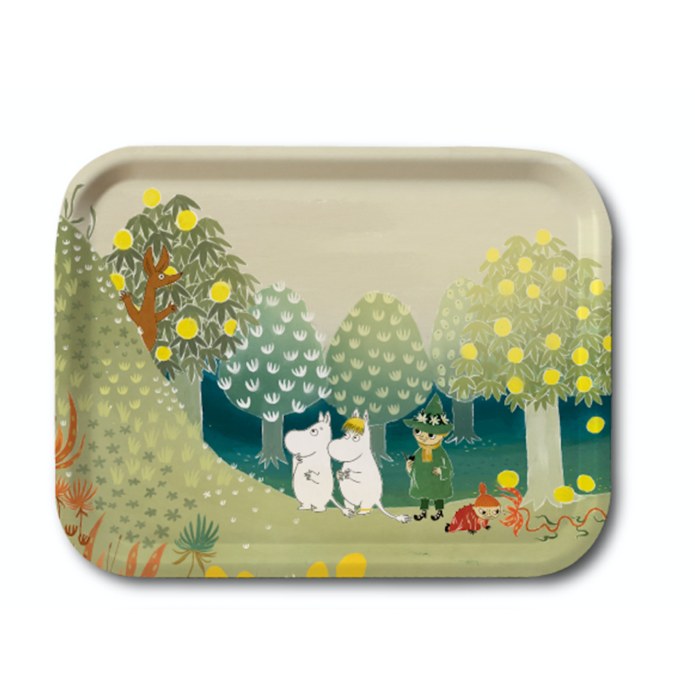 Moomin Tray Moominvalley Hill 27 x 20 cm