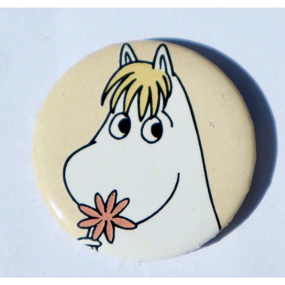 Button Badge Snorkmaiden Yellow - .