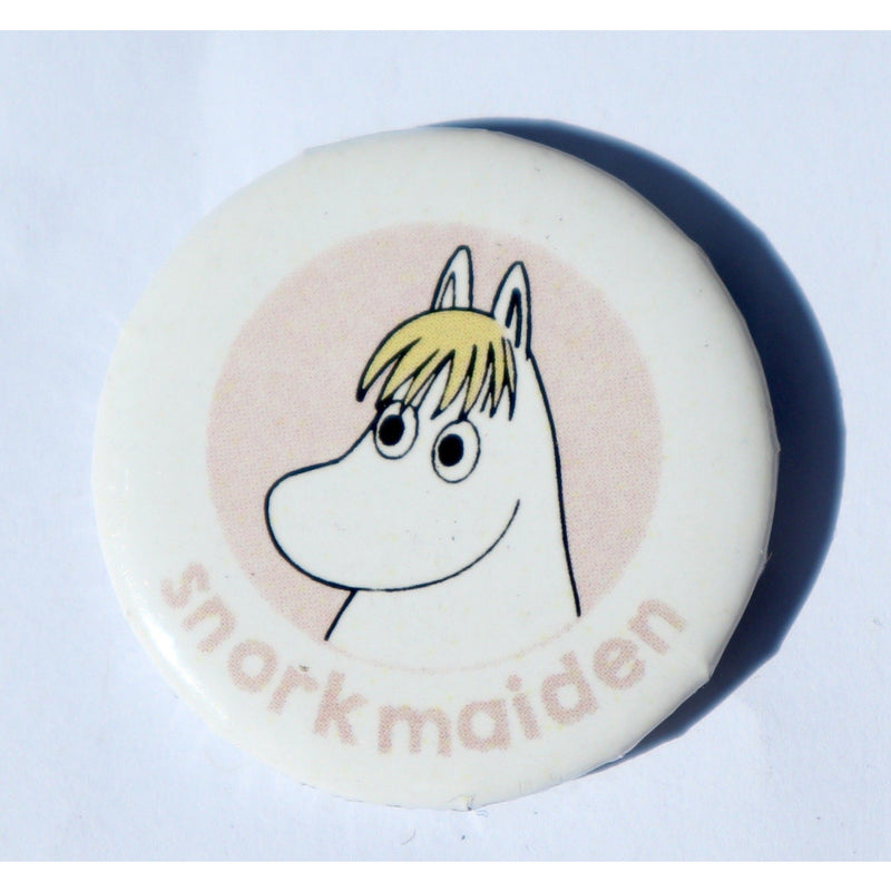 Button Badge Snorkmaiden Pink - .