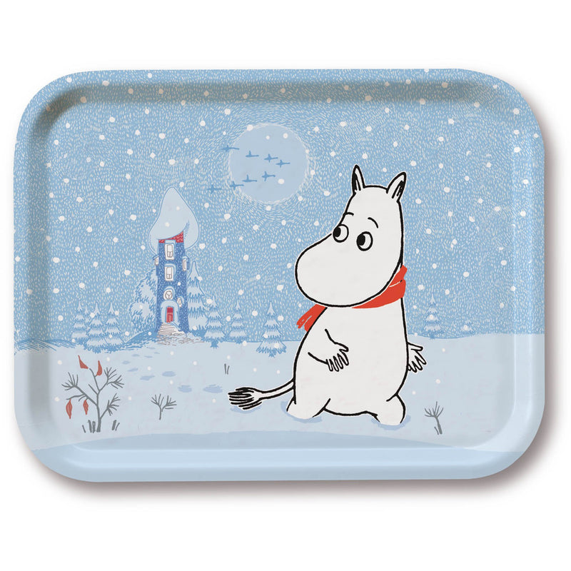 Moomin Tray Snow - .