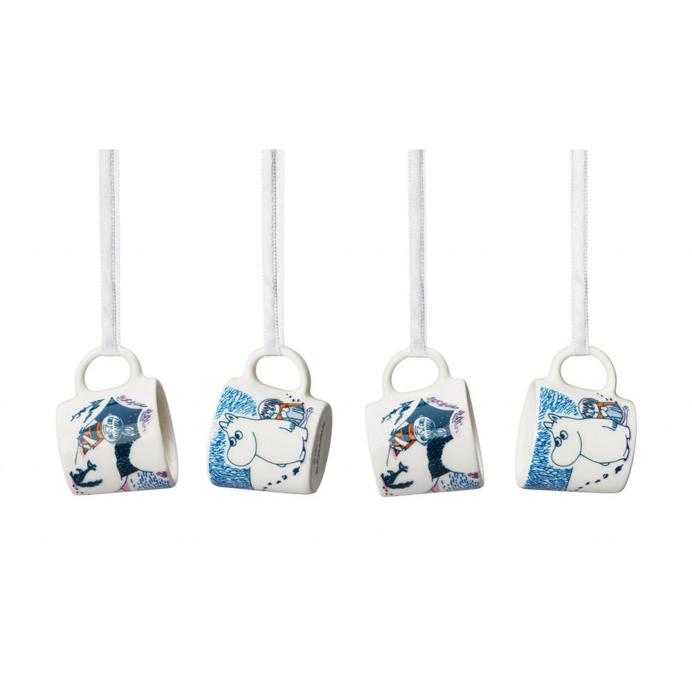 Moomin mini mug set 4 pcs Crown Snow-load Seasonal 2019