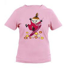 Moomin T-Shirt kids Little My Sliding Slim Pink