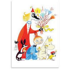Moomin Easter Card