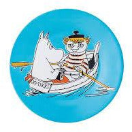 Moomin Dessert Plate Moomin and Too-Ticky - .