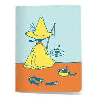 Moomin Mini Notebook #oursea Snufkin - .