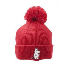 Moomintroll Reflective Beanie Red