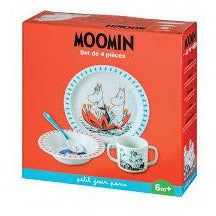 Children's Set  Melamine 4 Piece Box Set - .