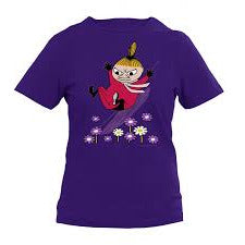 Moomin T-Shirt kids Little My Sliding Purple - .