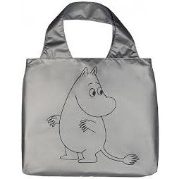 Eco Carrybag Moomin Silver/Black - .