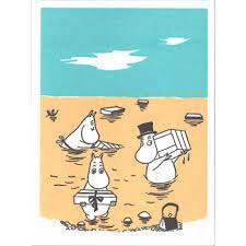 Greeting Card At The Beach - .