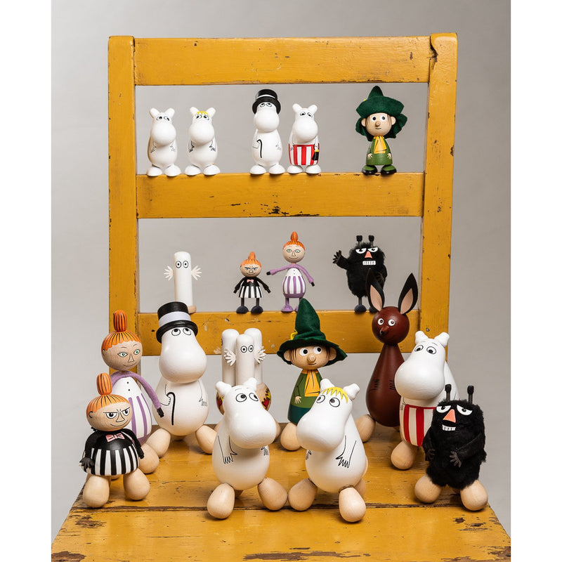 Mini Wooden Doll Moominmamma - .