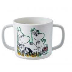 Children's Mug Melamine Double Handed Anti Slip Base - .