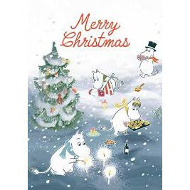 Moomin Christmas Card Moominfamily - .