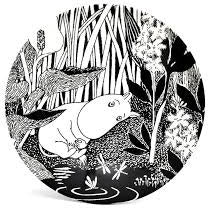 Moomin Dessert Plate The Dreaming - .