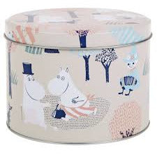 Moomin Forest Walk Round Tin - .