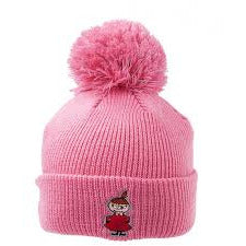 Little My Reflective Beanie Pink - .
