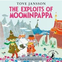 Audio Book The Exploits of Moominpappa read by Hugh Dennis - .